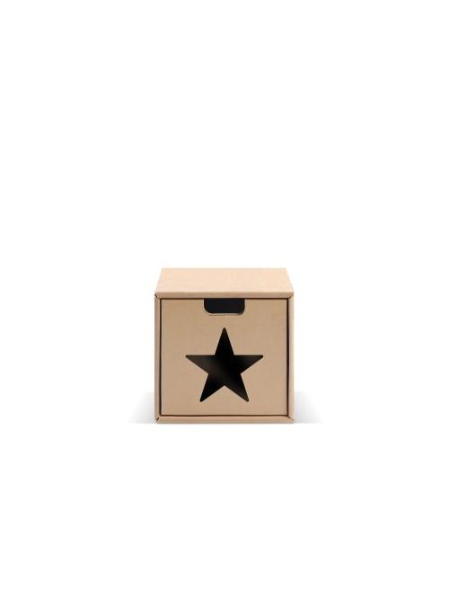 Originale contenitore di ecodesign in cartone - Pixel Stella