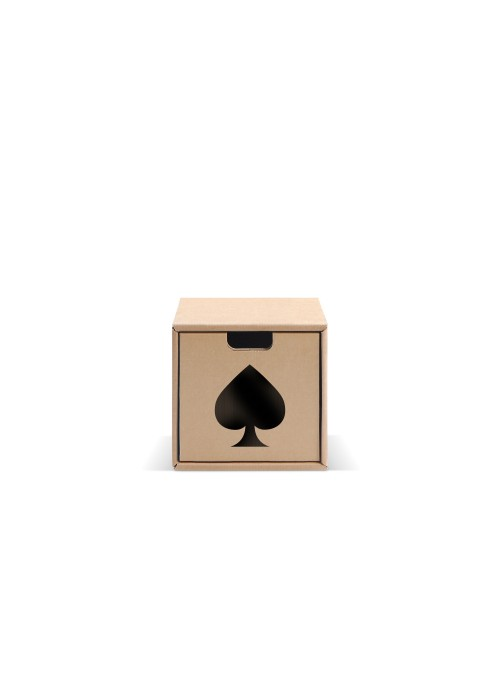 Originale contenitore di ecodesign in cartone - Pixel Picche