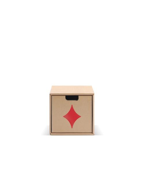 Originale contenitore di ecodesign in cartone - Pixel Quadri