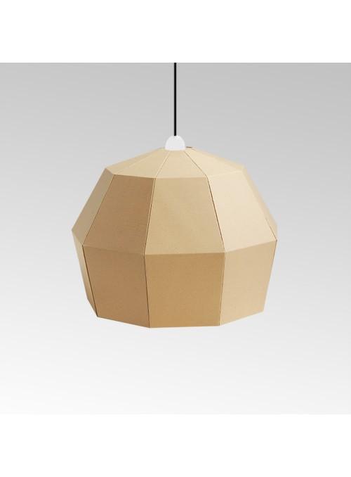 Lampada in cartone di ecodesign - Uno Fantasia A