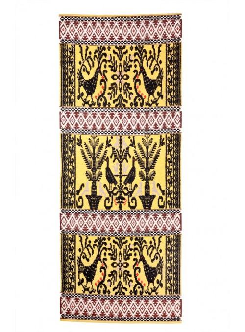 Handmade carpet in sardinian wool - Pavoncelle