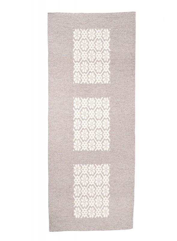 Handmade mat carpet in Sardinian wool - Quadro