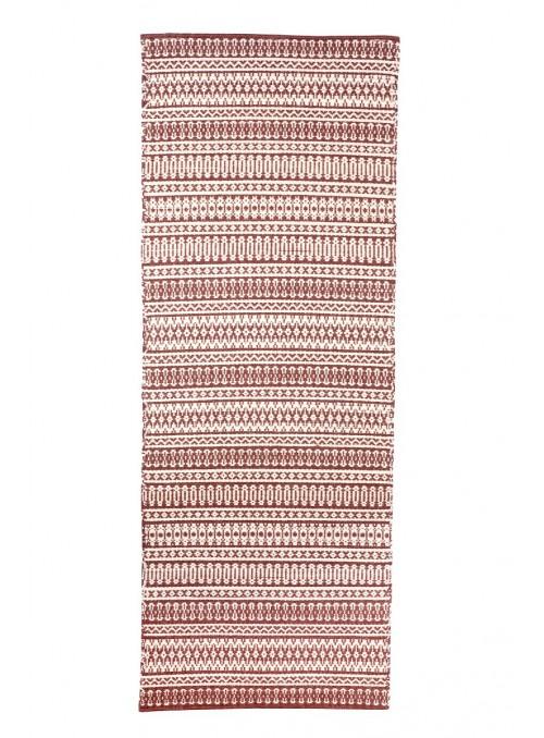 Tappeto a stuoia in lana sarda lavorato a mano - Mustra de Sedilo