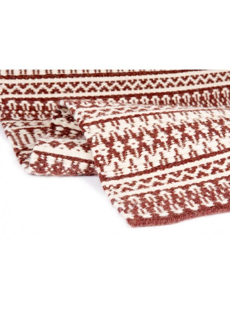 Tappeto a stuoia in lana sarda lavorato a mano - Mustra de ...