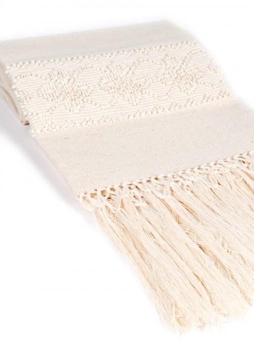 Asciugamano ricamato a mano - Quadrifoglio