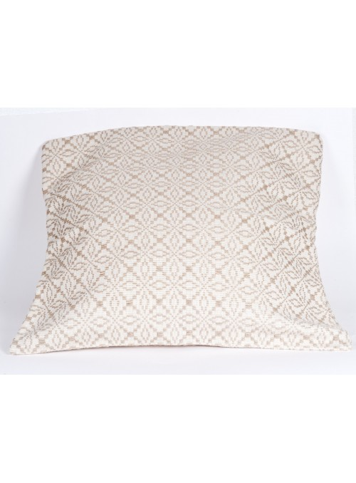 Handmade embroidered pillow of Sardinian tradition