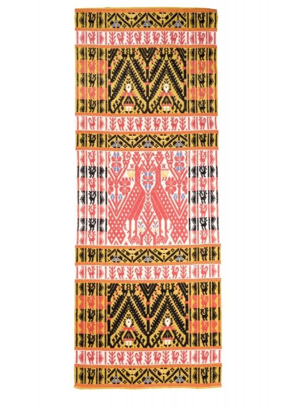 Tappeto tradizionale in lana sarda lavorato a mano