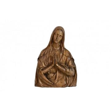 Altorilievo in bronzo a tema religioso - Busto Madonna