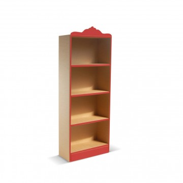Classical style eco-friendly cardboard bookcase Coco 145