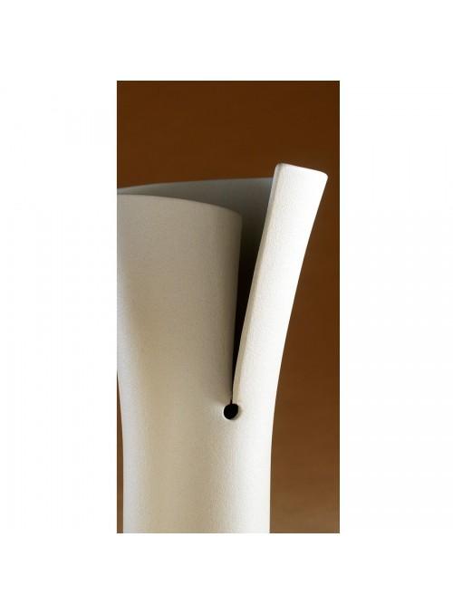 Design vase in porcelain stoneware - Elica Alpha