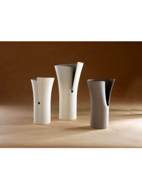 Vaso di design in gres porcellanato - Elica beta