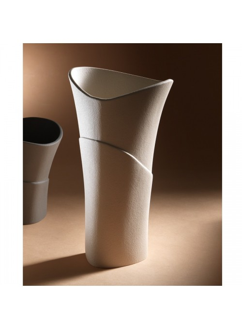 Vaso di design in gres porcellanato - Swing alfa