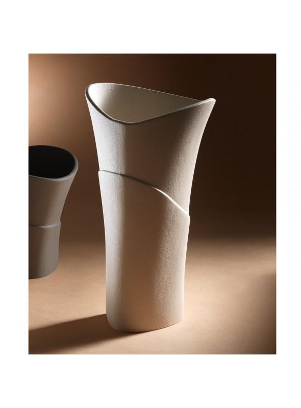 Vaso di design in gres porcellanato - Swing alfa