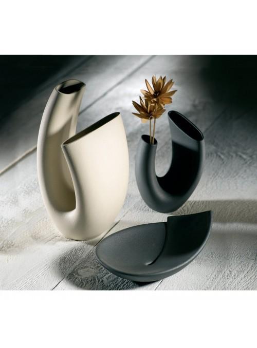 Design vase in porcelain stoneware - Anemone alpha