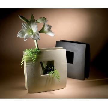 Vaso di design in gres porcellanato - Finestra beta