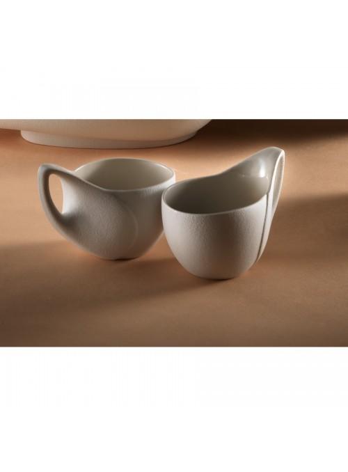 Tazza di design in gres porcellanato - Colomba