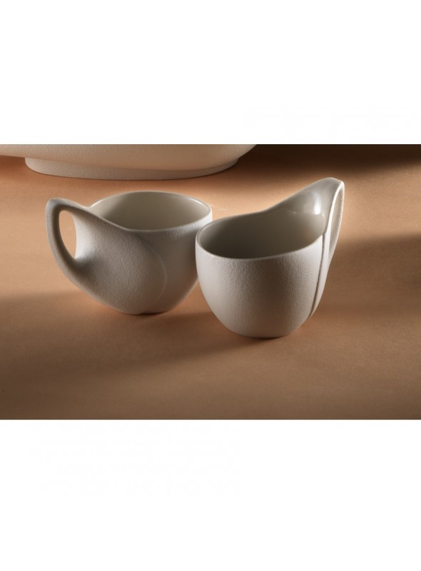 Tazza di design in gres porcellanato - Colomba