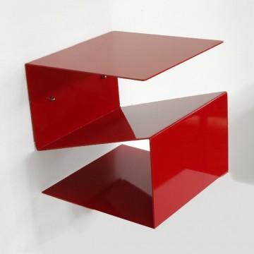Comodino in ferro dal design geometrico - Pigillà