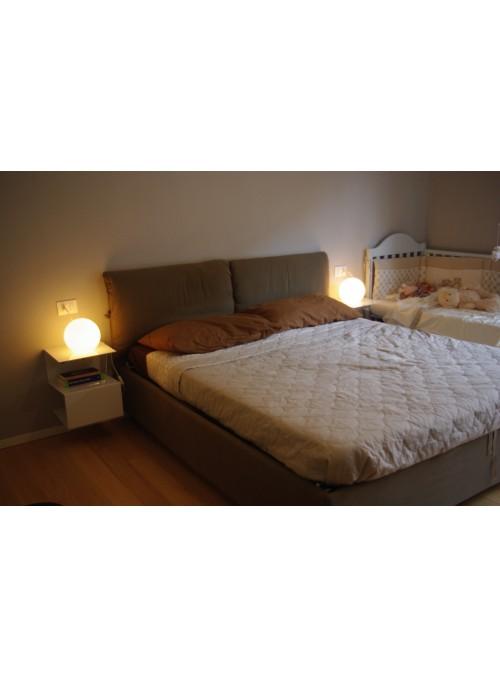 Iron nightstand with a geometric design - Pigillà