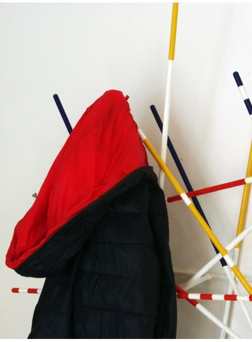 Appendiabiti di design in ferro colorato - Shangai