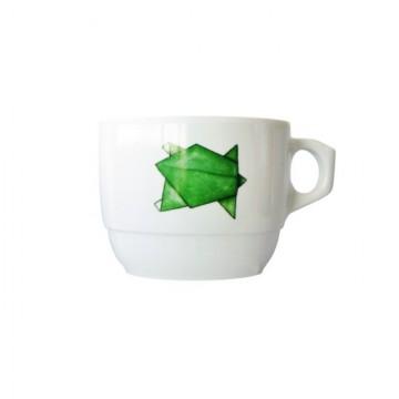 Tazza per bambini in melamina - Tartarughe Origami
