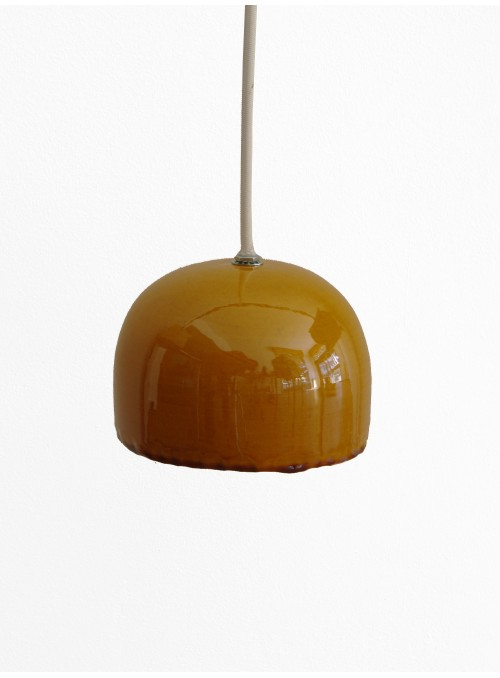 Hand-glazed colourful ceramic ceiling lamp - Brio Grande
