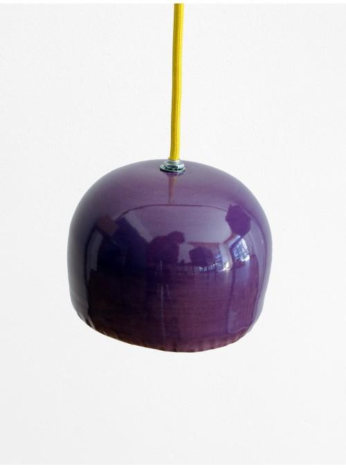 Lampada a sospensione in ceramica smaltata colorata - Brio Grande