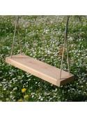 Wooden swing for the garden