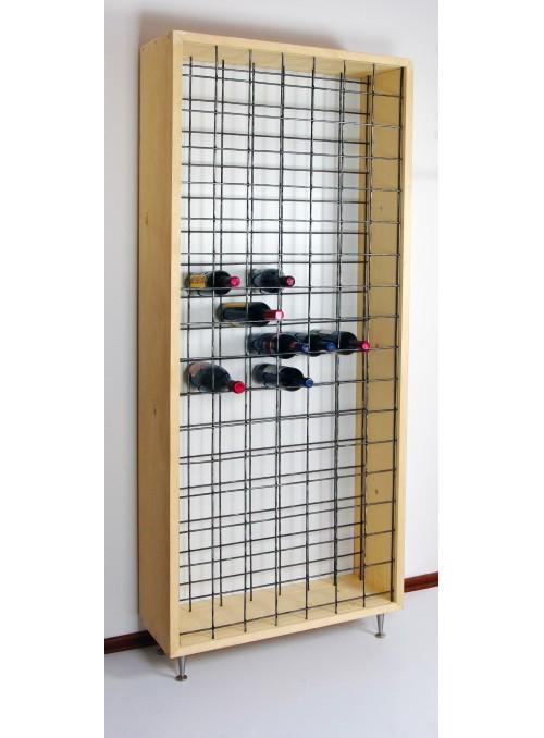 Mobile portabottiglie in legno - Cantinetta