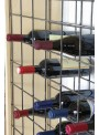 Wooden wine rack that can contain more than 100 bottles - Cantinetta