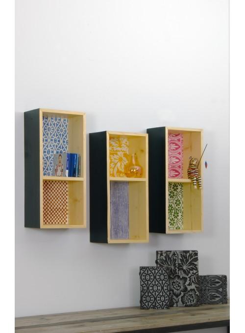 DoReMi - Contenitore a parete in legno