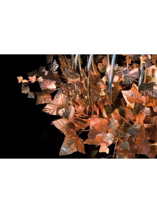 Lampada da tavolo di design in ferro e rame - Sphaera