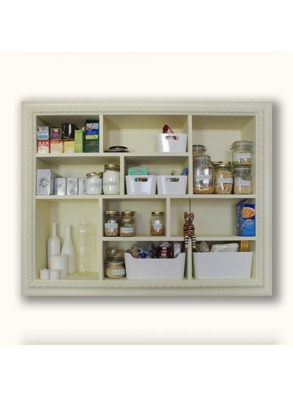 Mensola e credenza da cucina
