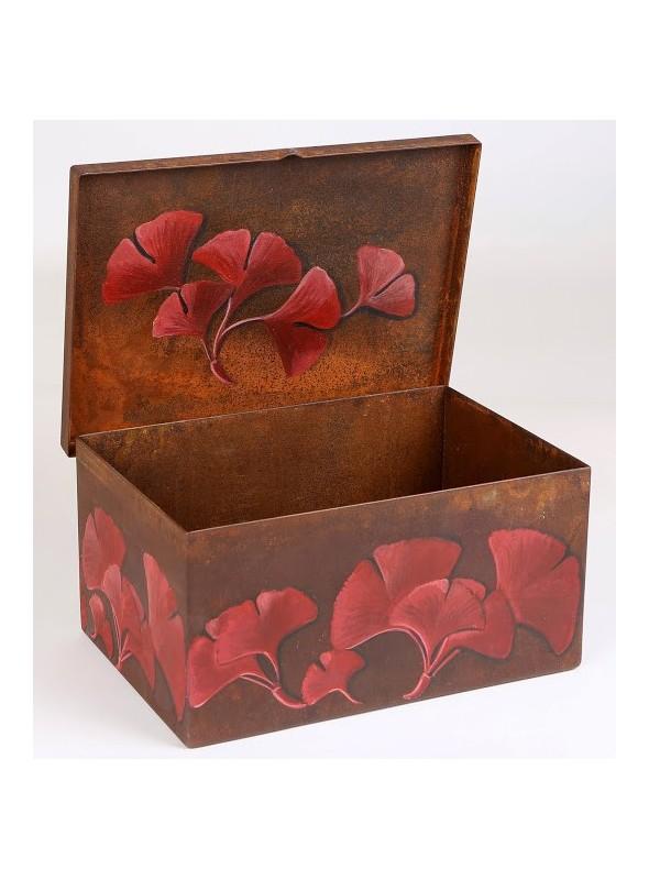 Corten storage box - Ginko