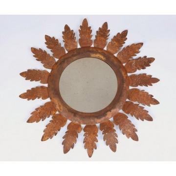 Specchio in corten - Acanto