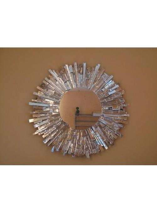 Specchio in ferro e cristallo - Specchio di Specchi