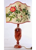 Table lamp in polished wood - Damascena