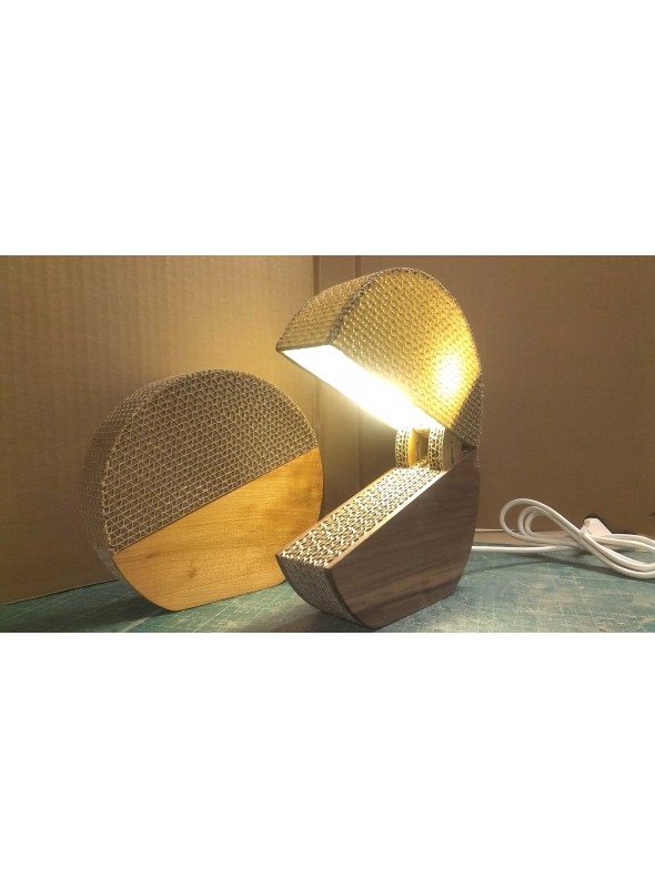 Funny ecodesign lamp in cardboard - Switcha
