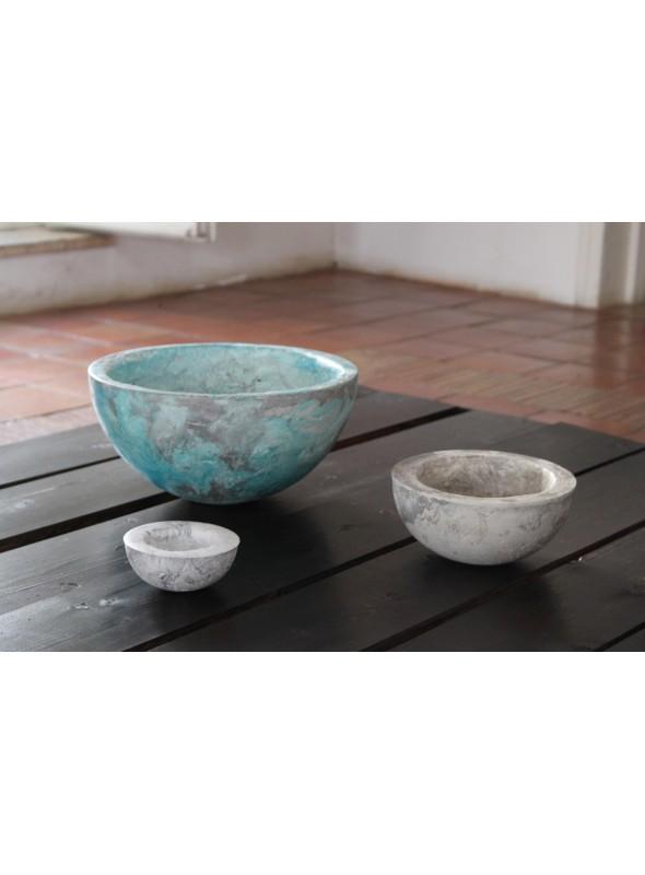 Set di tre ciotole decorative artigianale - Ecomondi