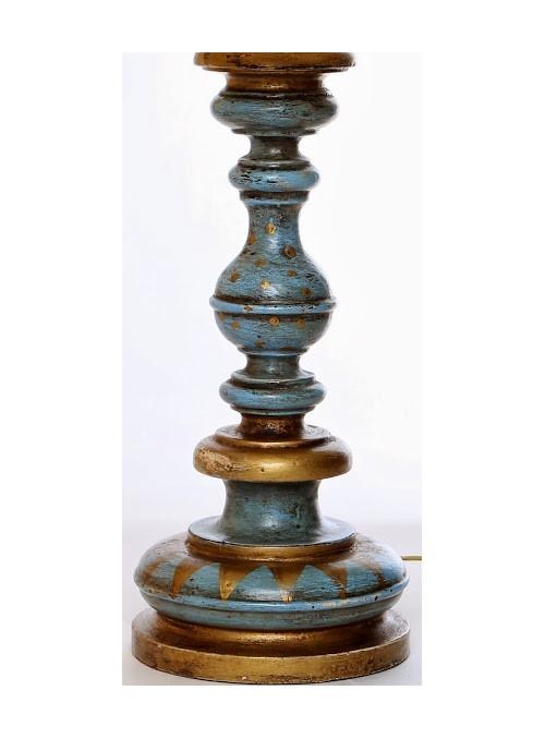 Lampada da tavolo con decorazione classica - Pansè