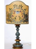 Table lamp with classic decoration - Pansè