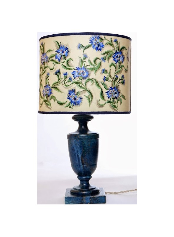 Hand-painted table lamp - Fiordaliso