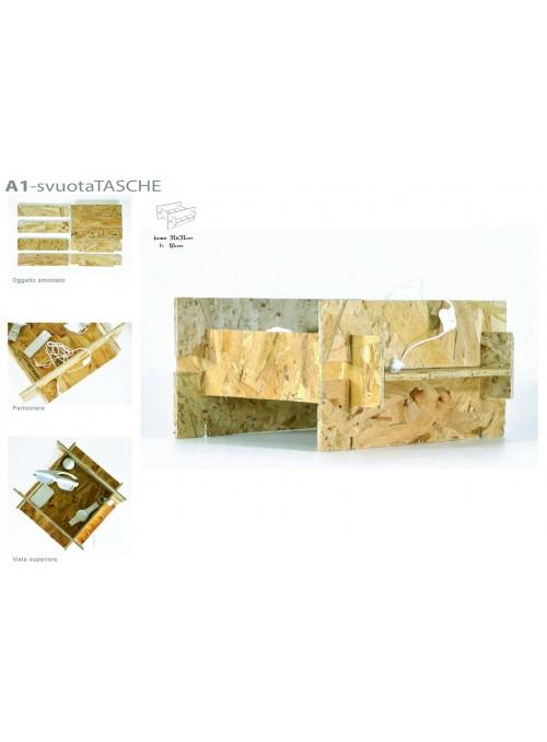 Ecodesign assembled pocket emptier
