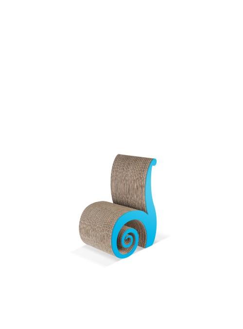 Sedia per bambini di ecodesign in cartone - Chiocciola