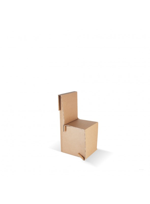 Sedia per bambini di ecodesign in cartone - Mini King