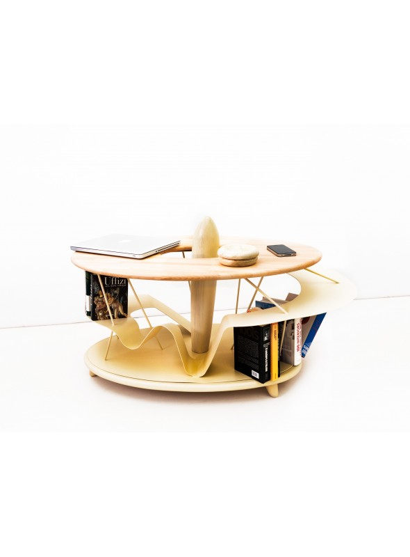 Tavolino di design in legno - Leo