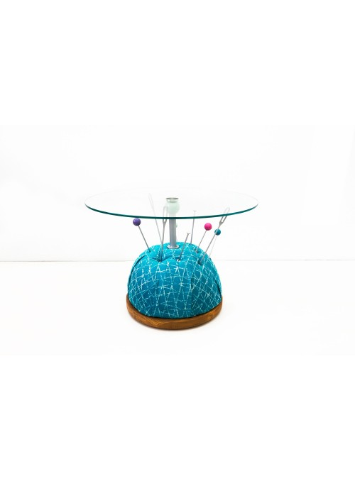 Tavolino in vetro temperato - Puntaspilli