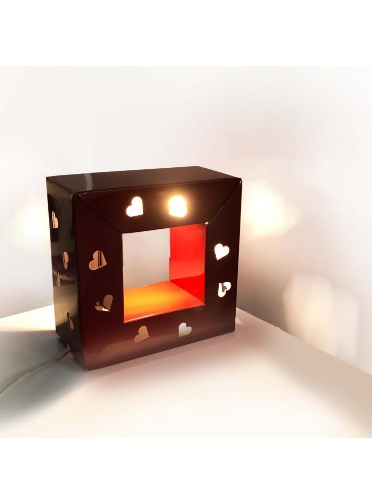 Lampada Da Terra Valenti.Lampada Di Ecodesign In Cartone Audrey San Valentino