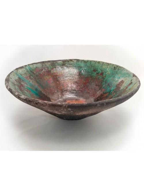 Ciotola giapponese in ceramica Raku