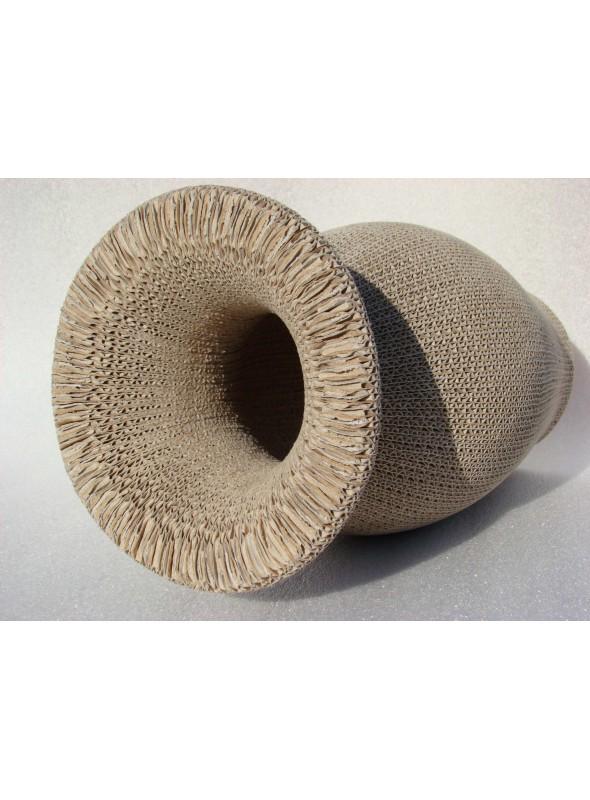 Ecodesign cardobard vase